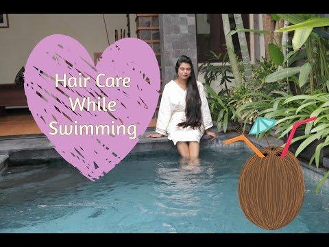 Swimming Hair Hacks For Pools & Sea | Protection from Chlorine and Salt | Sushmita's Diaries
