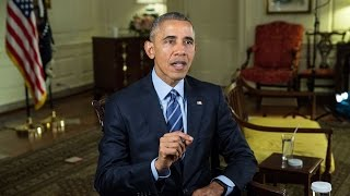 Weekly Address: Working Together to Keep America Moving Forward