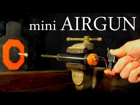 How to Make a Mini Dart Gun w/Multiple Configurations