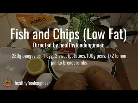Fish and Chips Low Fat