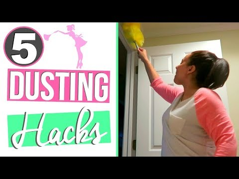 HOW TO DUST PROOF YOUR HOME | DUSTING HACKS & TIPS - CLEAN WITH ME 2017 | Page Danielle
