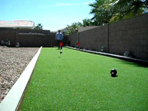 Bocce Ball and Putting Green Installation by TRI-STATE TURF