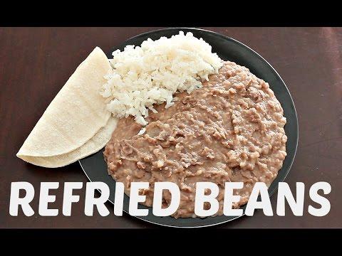 Refried Beans Recipe   Vegan