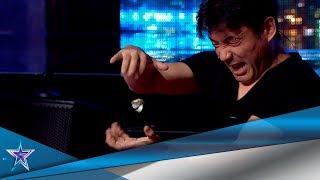 Este JAPONÉS hace DIVERTIDA MAGIA usando su MENTE   Audiciones 6   Got Talent España 5 (2019)