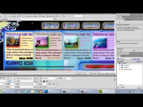 How to Link Adobe Photoshop Website With Adobe Flash Documents Through Adobe Dreamweaver