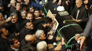 Iran: Mourners attend funeral of former Iranian leader Rafsanjani