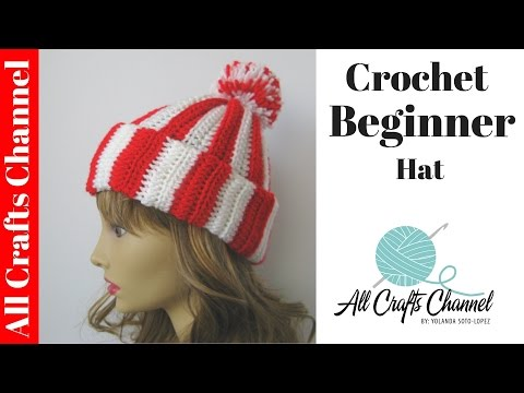 How to crochet Easy Beginner Hat