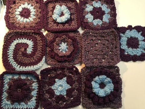 Ophelia Talks about Crochet: various stitches: beginner's guide