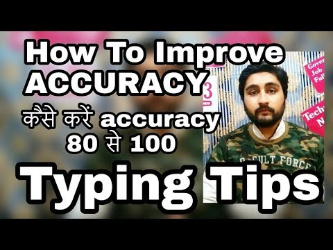 How to improve  Accuracy In Typing by viraj viral videos