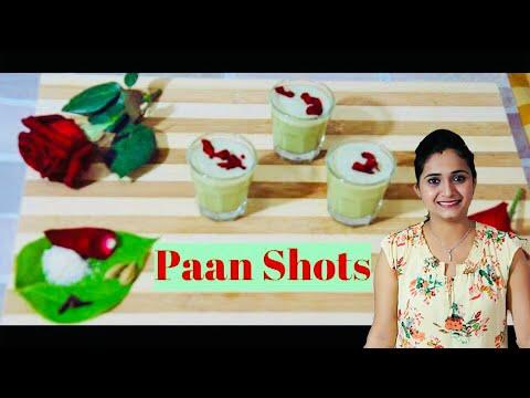 Paan Shots | Twist to the regular Paan | Refreshing drink Recipe by Priyanka Rattawa