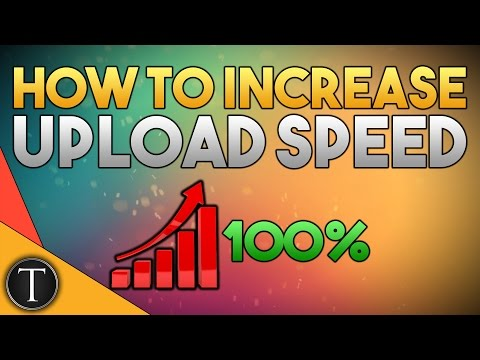 UBER FAST UPLOAD!! ~ How To Significantly Increase Upload Speed