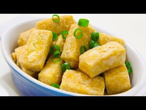 How To Deep Fry Tofu - Video Recipe