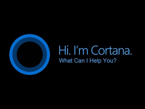 Talking with Cortana: Commands and Fun