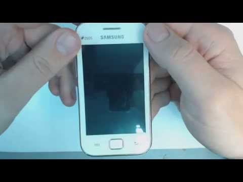 Samsung Galaxy Ace Duos S6802 - How to remove pattern lock by hard reset