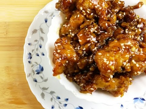 Korean Honey butter fried chicken | quick n easy main course|