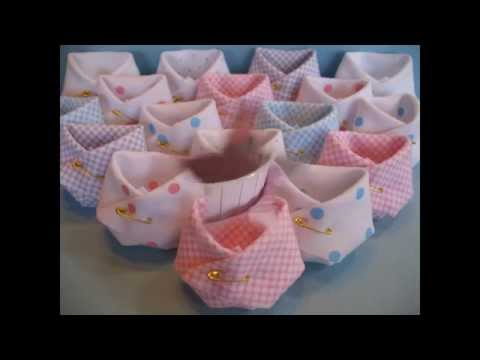 Simple Baby shower party favors decorations
