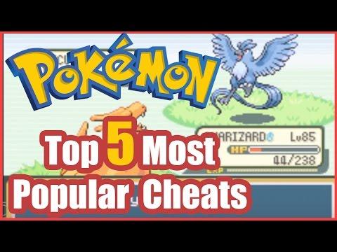 Pokemon FireRed Cheats Top 5 Most Popular