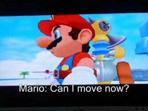 Super Mario Moonshine (Bloopers) 1: A bad vacation.