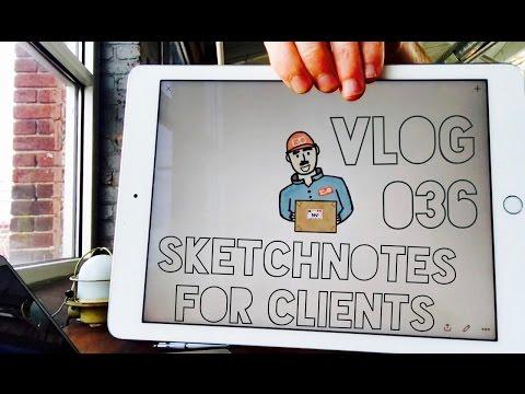 How I Create Sketchnotes for a Client