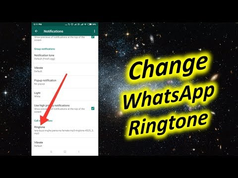 How to Change WhatsApp Ringtone on Android