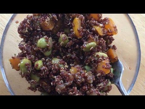 Easy Protein-Packed Spicy Vegan Quinoa with Edamame Recipe