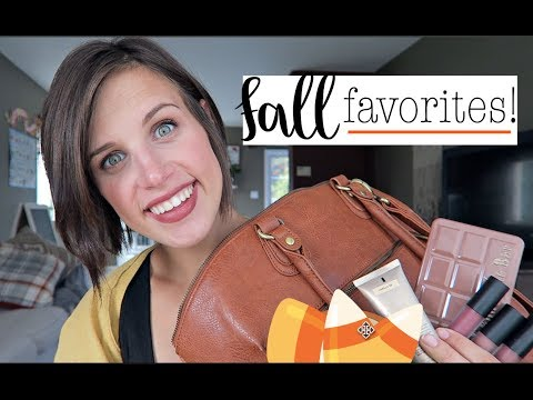 FALL FAVORITES! BEAUTY & LIFESTYLE