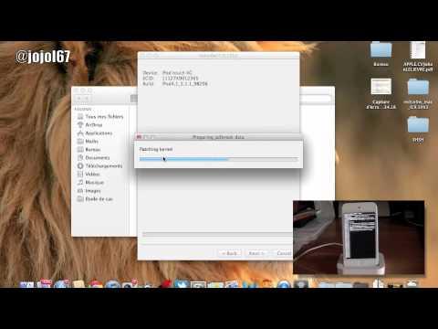 IOS 5.1.1 Jailbreak Untethered et Hacktivation/Activation sans carte sim avec Redsn0w 0.9.12b2