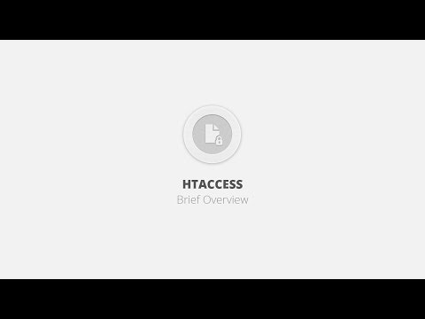 Htaccess WordPress Plugin - Brief Overview