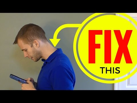 Fix Neck Pain From Cell Phone Use: Corrective Exercises and Discussion