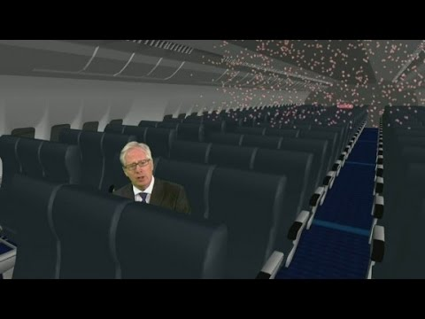 Sneeze on a plane: A chance of getting the measles