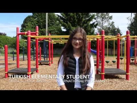 Delta School District - International Programs - Turkish Elementary Student 2016