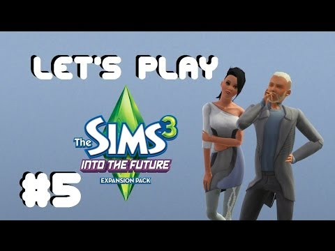 Let's Play - The Sims 3 Into The Future (Part 5) Exploring The Wasteland