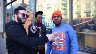 Asking RANDOM People to #Freestyle on #BEATS!!