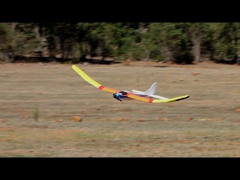 EP 85 Serenity-A docile 3 channel glider from Foamboard