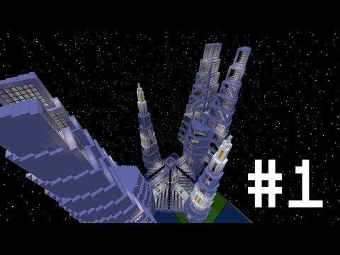 Minecraft Space Station Mega Build #1