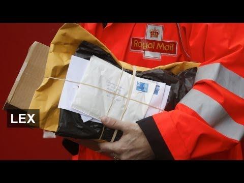 Royal Mail -- privatisation revived