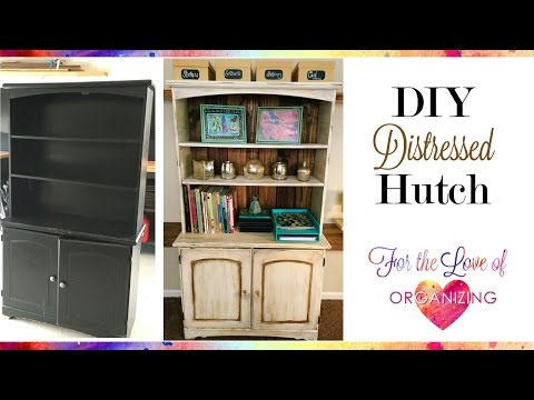 How to Distress Furniture with Chalk Paint | DIY Shabby Chic