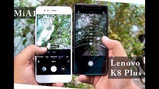 Lenovo k8 plus vs  Mia1  #Full Depth #Camera Comparion