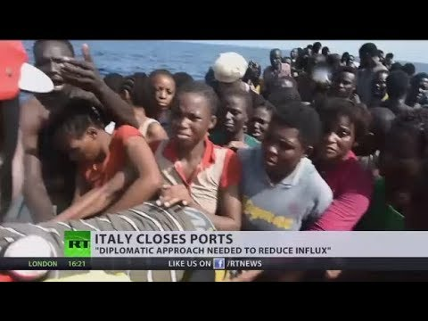 Troubled Waters: Italian govt closes port to migrants as influx continues