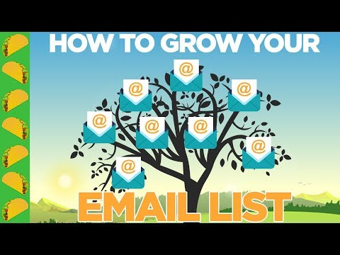 The Exact, Free Tactics to Grow Your Email List (Lessons from a 8-Figure CEO)