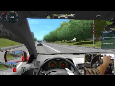 City Car Driving   Logitech Driving Force GT
