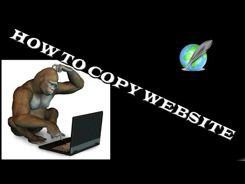 How to copy any web site / Clone all web pages