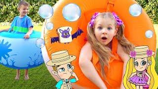 Diana and Roma Bubble Ball Rescue cartoon