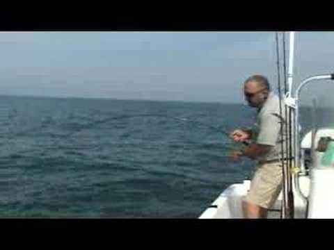 Carolina Beach Fishing..King Mackerel on Fly Rod