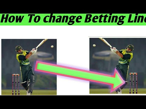 How To Change Betting Line