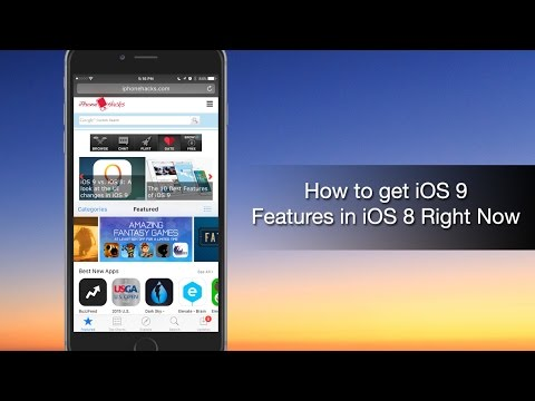 How to get iOS 9 Features in iOS 8 Right Now - iPhone Hacks