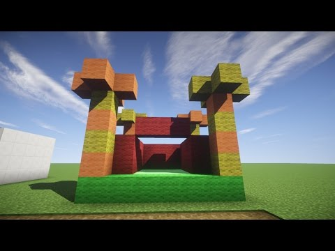 Build Tutorials | How To Make A Bouncy Castle | Minecraft
