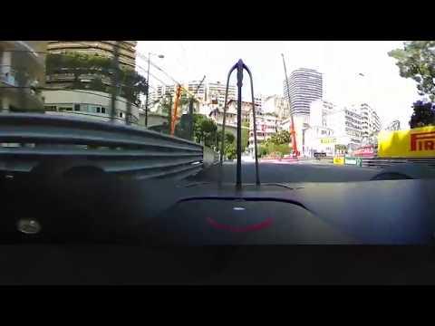 Daniel Ricciardo's Record Pole Lap (360 Video) | 2018 Monaco Grand Prix