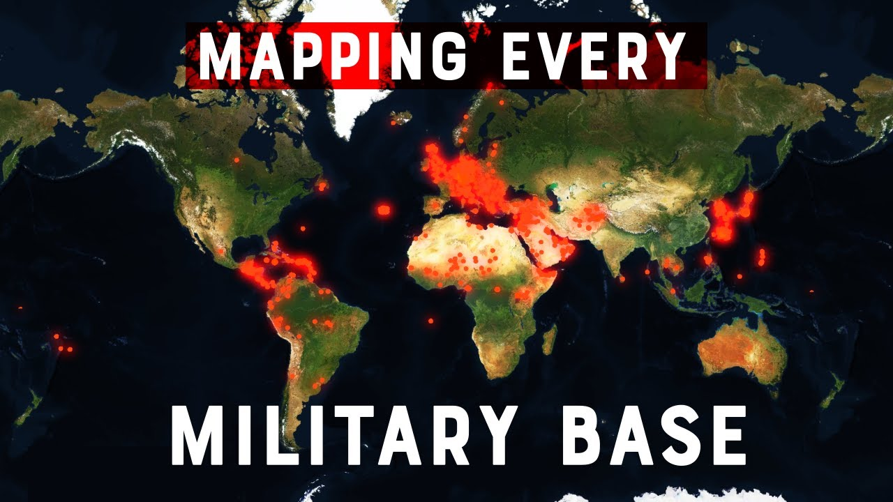 The US Military is EVERYWHERE