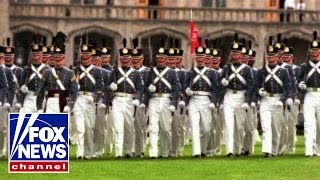 Are military parades unusual for the US to hold?